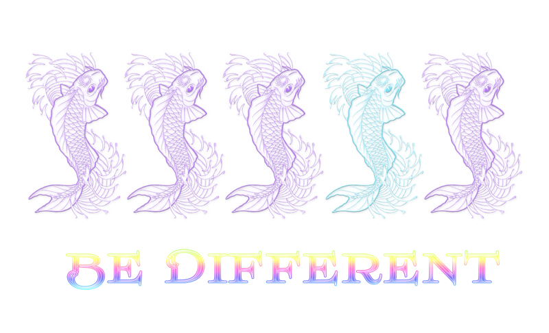 Be different – Sei anders!